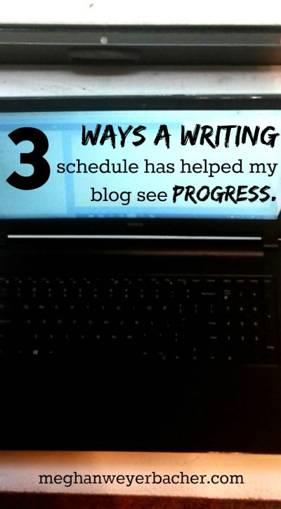 3 ways a writing schedule has helped my blog to grow.