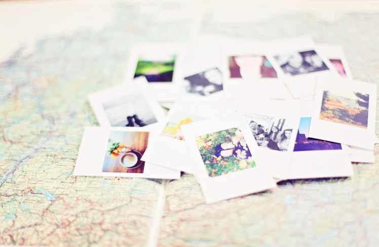 map with pictures, adventure, photography, creative outlet for moms